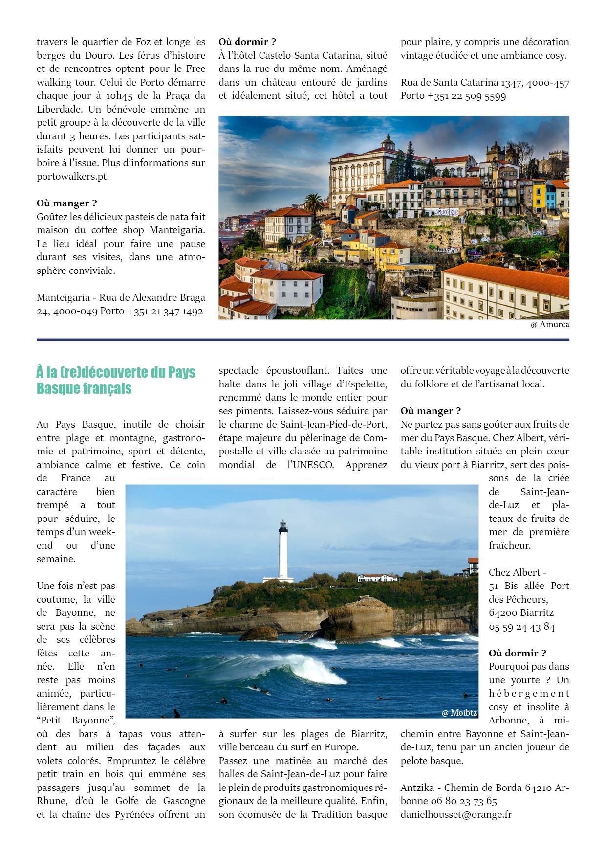 Article destinations Portugal Cornouailles