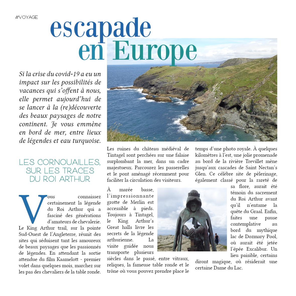 Article escapade en europe page 1